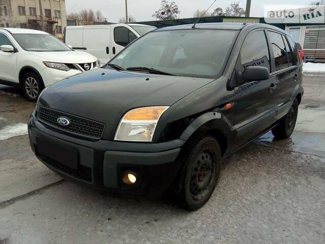 Черный Форд Фьюжн, объемом двигателя 1.4 л и пробегом 152 тыс. км за 8000 $, фото 1 на Automoto.ua