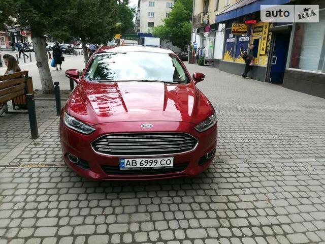 Красный Форд Фьюжн, объемом двигателя 2 л и пробегом 51 тыс. км за 15500 $, фото 1 на Automoto.ua