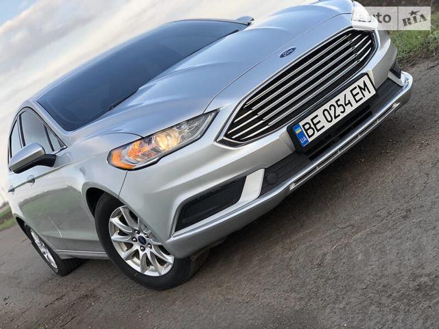 Серый Форд Фьюжн, объемом двигателя 2.5 л и пробегом 171 тыс. км за 12500 $, фото 1 на Automoto.ua
