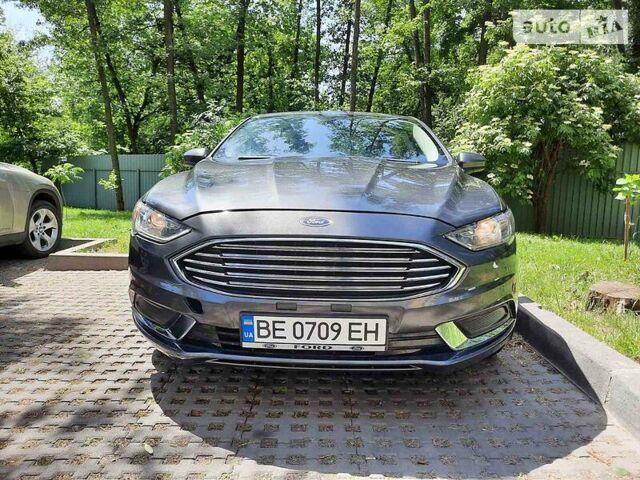 Серый Форд Фьюжн, объемом двигателя 2.5 л и пробегом 52 тыс. км за 15250 $, фото 1 на Automoto.ua