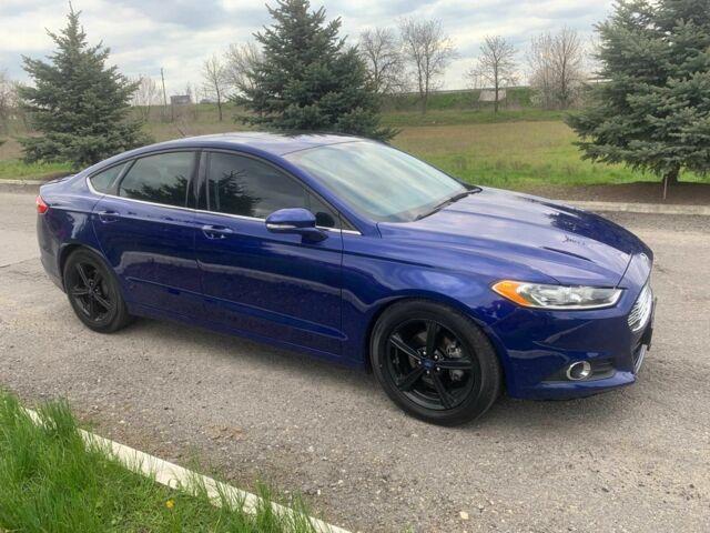 Синий Форд Фьюжн, объемом двигателя 2.5 л и пробегом 62 тыс. км за 12500 $, фото 1 на Automoto.ua