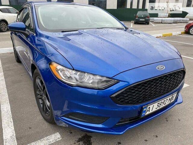 Синий Форд Фьюжн, объемом двигателя 1.5 л и пробегом 80 тыс. км за 14700 $, фото 1 на Automoto.ua