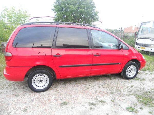 Красный Форд Галакси, объемом двигателя 1.9 л и пробегом 395 тыс. км за 2300 $, фото 1 на Automoto.ua