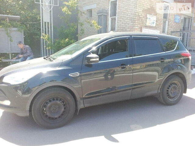 Чорний Форд Куга, об'ємом двигуна 2 л та пробігом 73 тис. км за 9737 $, фото 1 на Automoto.ua