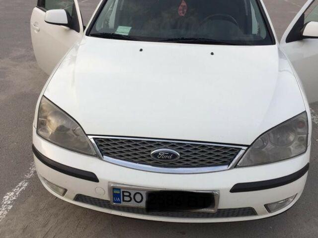 Белый Форд Мондео, объемом двигателя 2 л и пробегом 330 тыс. км за 4000 $, фото 1 на Automoto.ua