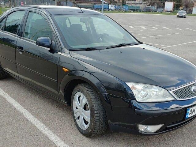 Черный Форд Мондео, объемом двигателя 2 л и пробегом 171 тыс. км за 5200 $, фото 1 на Automoto.ua