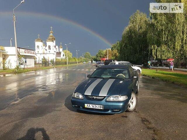 Зеленый Форд Мустанг ГТ, объемом двигателя 5 л и пробегом 165 тыс. км за 9000 $, фото 1 на Automoto.ua