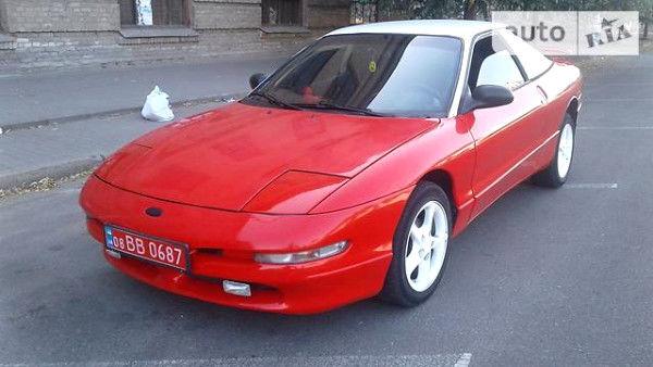 Червоний Форд Проуб, об'ємом двигуна 2.5 л та пробігом 310 тис. км за 3300 $, фото 1 на Automoto.ua