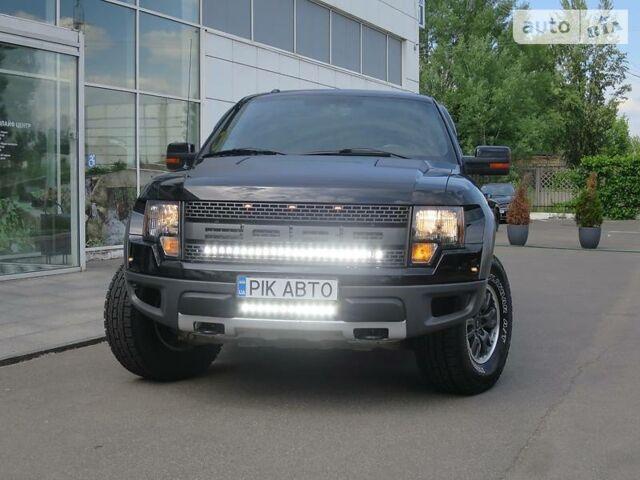 Черный Форд Раптор, объемом двигателя 6.2 л и пробегом 114 тыс. км за 75000 $, фото 1 на Automoto.ua