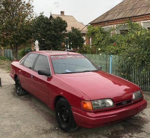 Красный Форд Скорпио, объемом двигателя 2.4 л и пробегом 1 тыс. км за 1300 $, фото 1 на Automoto.ua