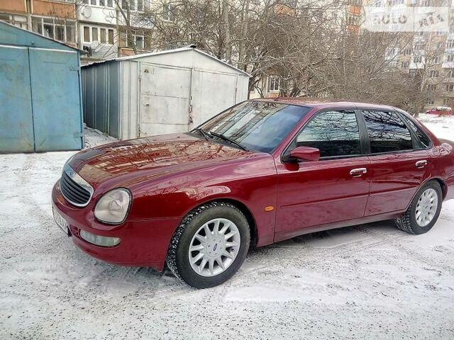 Вишневий Форд Скорпіо, об'ємом двигуна 2 л та пробігом 329 тис. км за 3550 $, фото 1 на Automoto.ua