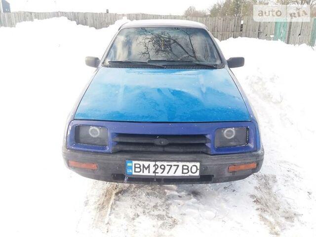 Синий Форд Сиерра, объемом двигателя 2 л и пробегом 30 тыс. км за 1500 $, фото 1 на Automoto.ua