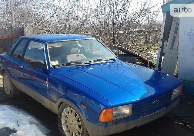 Синий Форд Таунус, объемом двигателя 2.9 л и пробегом 100 тыс. км за 650 $, фото 1 на Automoto.ua