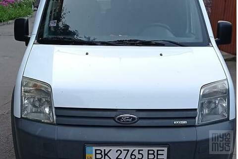 Белый Форд Транзит Коннект, объемом двигателя 1.8 л и пробегом 178 тыс. км за 6200 $, фото 1 на Automoto.ua