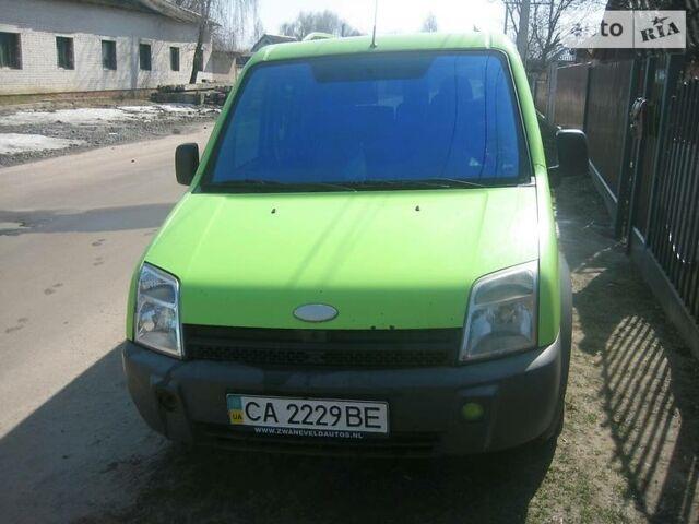 Зеленый Форд Транзит Коннект груз., объемом двигателя 1.8 л и пробегом 375 тыс. км за 4500 $, фото 1 на Automoto.ua