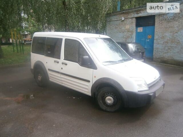 Белый Форд Транзит Коннект пасс., объемом двигателя 1.8 л и пробегом 282 тыс. км за 4700 $, фото 1 на Automoto.ua