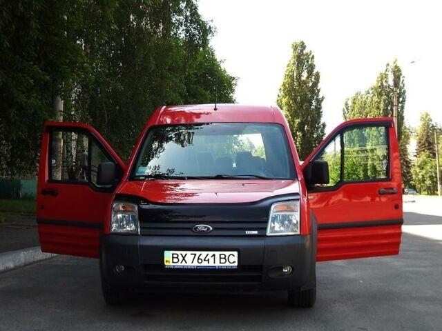 Красный Форд Транзит Коннект пасс., объемом двигателя 1.8 л и пробегом 250 тыс. км за 6600 $, фото 1 на Automoto.ua