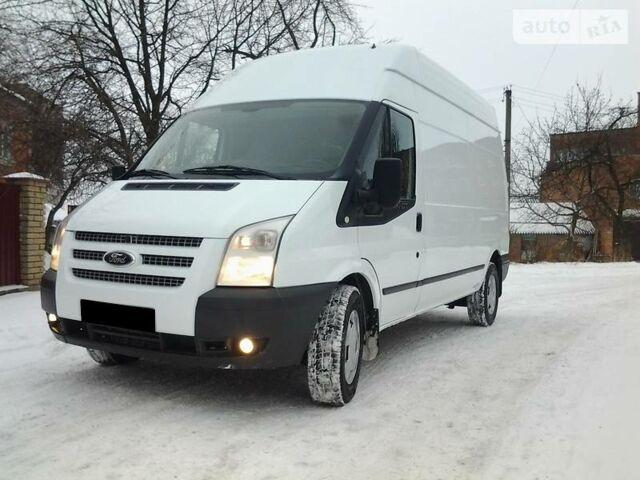 Белый Форд Транзит груз., объемом двигателя 2.2 л и пробегом 165 тыс. км за 12500 $, фото 1 на Automoto.ua