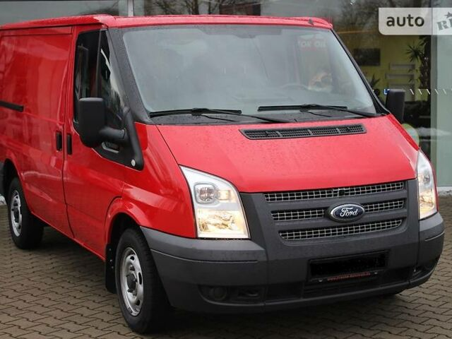 Красный Форд Транзит груз., объемом двигателя 2.2 л и пробегом 91 тыс. км за 8500 $, фото 1 на Automoto.ua