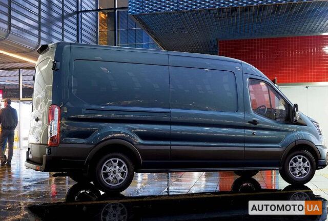 Серый Форд Транзит груз., объемом двигателя 2 л и пробегом 0 тыс. км за 38088 $, фото 1 на Automoto.ua