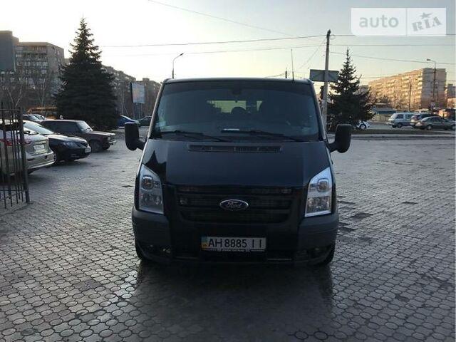 Чорний Форд Транзит пас., об'ємом двигуна 2.2 л та пробігом 201 тис. км за 9500 $, фото 1 на Automoto.ua