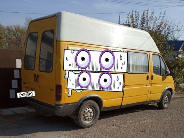 Желтый Форд Транзит, объемом двигателя 2.5 л и пробегом 99 тыс. км за 2700 $, фото 1 на Automoto.ua