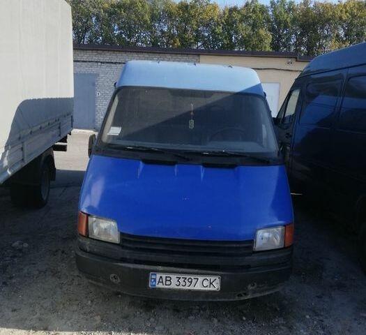 Синий Форд Транзит, объемом двигателя 2.5 л и пробегом 250 тыс. км за 2300 $, фото 1 на Automoto.ua