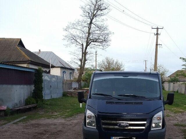 Синий Форд Транзит, объемом двигателя 2.2 л и пробегом 190 тыс. км за 9000 $, фото 1 на Automoto.ua