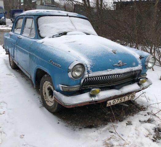 Синий ГАЗ 21, объемом двигателя 2.43 л и пробегом 1 тыс. км за 597 $, фото 1 на Automoto.ua