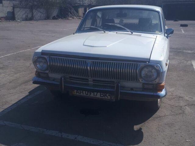 Белый ГАЗ 24, объемом двигателя 2 л и пробегом 1 тыс. км за 800 $, фото 1 на Automoto.ua