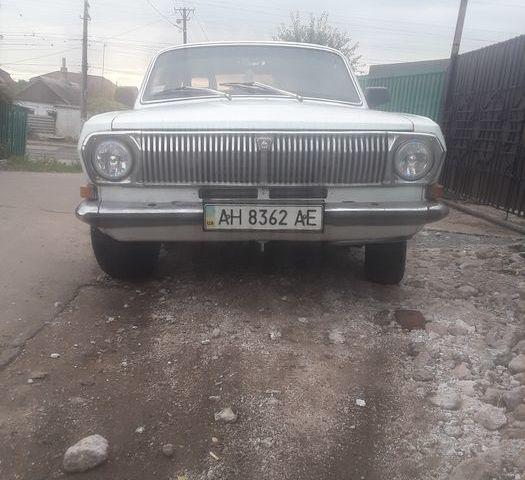 Белый ГАЗ 24, объемом двигателя 2.4 л и пробегом 76 тыс. км за 900 $, фото 1 на Automoto.ua
