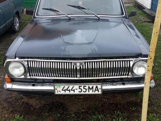 Черный ГАЗ 24, объемом двигателя 2 л и пробегом 28 тыс. км за 20000 $, фото 1 на Automoto.ua