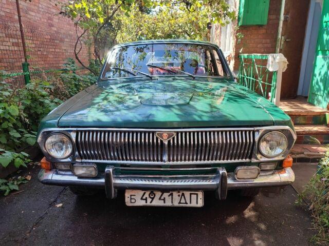 Зеленый ГАЗ 24, объемом двигателя 2.4 л и пробегом 116 тыс. км за 1000 $, фото 1 на Automoto.ua