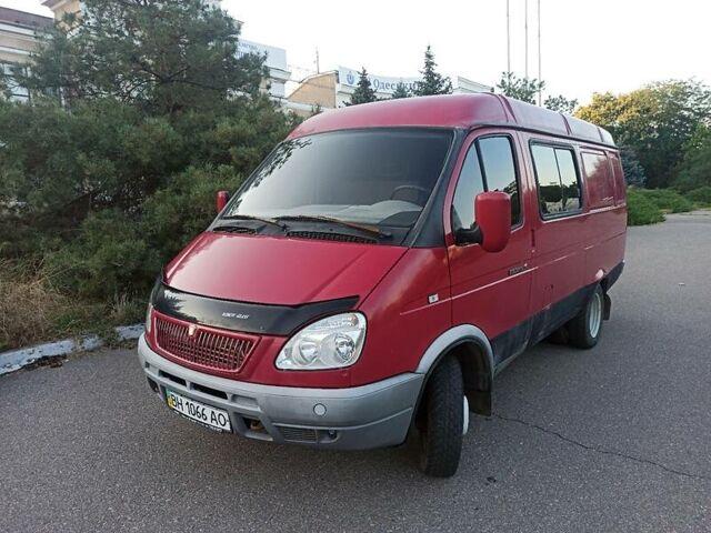 Красный ГАЗ 2705 Газель, объемом двигателя 2.5 л и пробегом 33 тыс. км за 3200 $, фото 1 на Automoto.ua