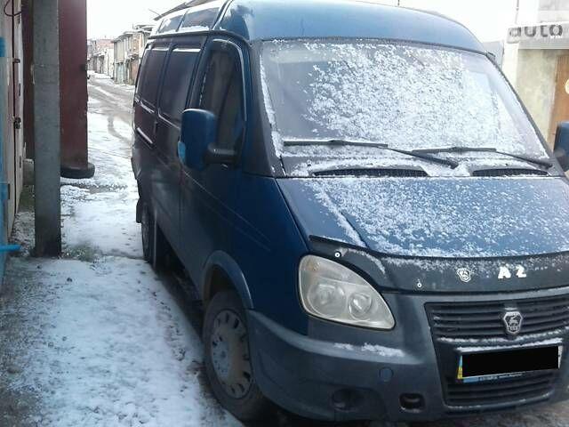 Синий ГАЗ 2705 Газель, объемом двигателя 2.5 л и пробегом 200 тыс. км за 3100 $, фото 1 на Automoto.ua