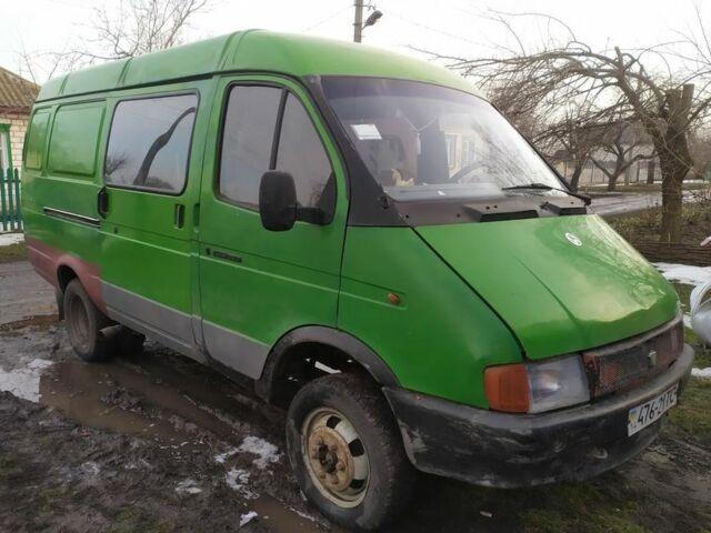 Зеленый ГАЗ 2705 Газель, объемом двигателя 2.4 л и пробегом 240 тыс. км за 1450 $, фото 1 на Automoto.ua