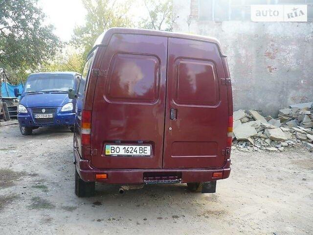 Красный ГАЗ 2752 Соболь, объемом двигателя 2.3 л и пробегом 100 тыс. км за 2500 $, фото 1 на Automoto.ua