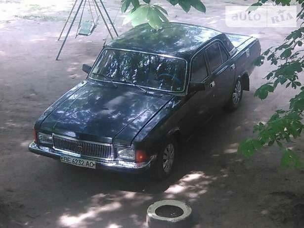 Черный ГАЗ 3102, объемом двигателя 2.5 л и пробегом 280 тыс. км за 1300 $, фото 1 на Automoto.ua