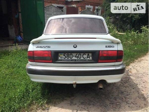 Белый ГАЗ 3110, объемом двигателя 2.45 л и пробегом 76 тыс. км за 2450 $, фото 1 на Automoto.ua