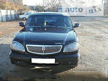 Черный ГАЗ 31105, объемом двигателя 2.3 л и пробегом 200 тыс. км за 2500 $, фото 1 на Automoto.ua