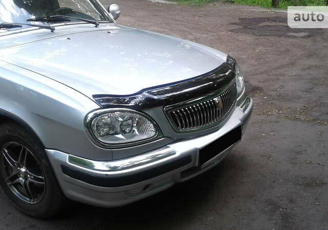Серый ГАЗ 31105, объемом двигателя 2.4 л и пробегом 59 тыс. км за 3700 $, фото 1 на Automoto.ua