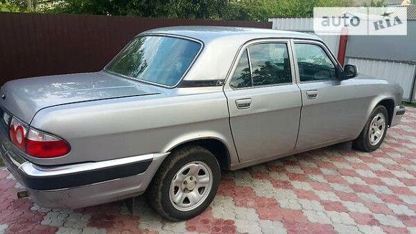 Серый ГАЗ 31105, объемом двигателя 2.3 л и пробегом 192 тыс. км за 2500 $, фото 1 на Automoto.ua