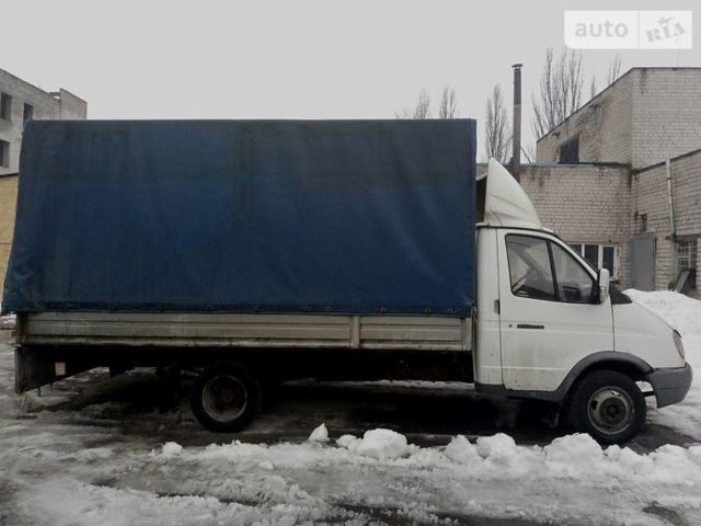 Білий ГАЗ 3202 Газель, об'ємом двигуна 2.5 л та пробігом 249 тис. км за 3500 $, фото 1 на Automoto.ua