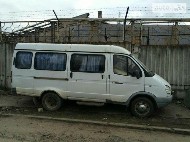 Белый ГАЗ 3221 Газель, объемом двигателя 2.3 л и пробегом 120 тыс. км за 2700 $, фото 1 на Automoto.ua