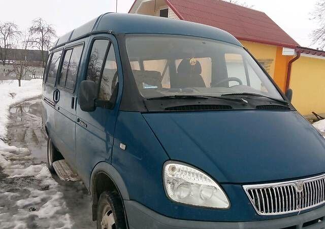 Синій ГАЗ 3221 Газель, об'ємом двигуна 2.3 л та пробігом 170 тис. км за 2600 $, фото 1 на Automoto.ua