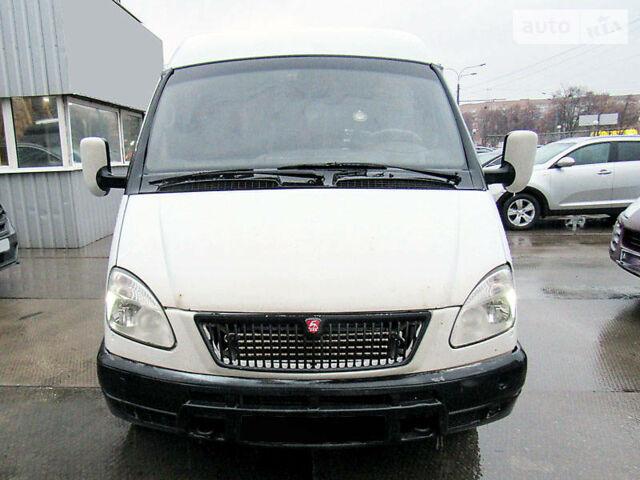 Білий ГАЗ 32213 Газель, об'ємом двигуна 2.7 л та пробігом 326 тис. км за 3300 $, фото 1 на Automoto.ua