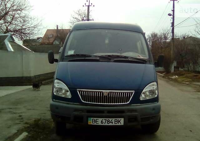 Синий ГАЗ 322132, объемом двигателя 2.3 л и пробегом 200 тыс. км за 2800 $, фото 1 на Automoto.ua