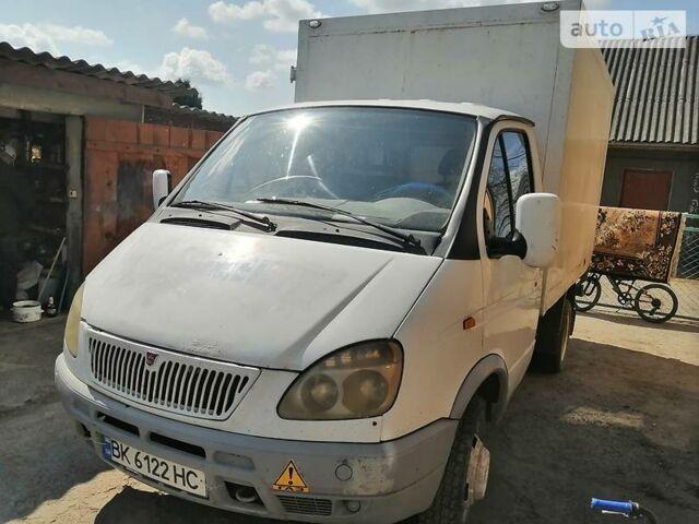 Белый ГАЗ 33022, объемом двигателя 2.5 л и пробегом 300 тыс. км за 2700 $, фото 1 на Automoto.ua