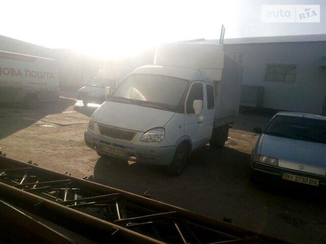 Белый ГАЗ 33023 Газель, объемом двигателя 2.3 л и пробегом 290 тыс. км за 3500 $, фото 1 на Automoto.ua