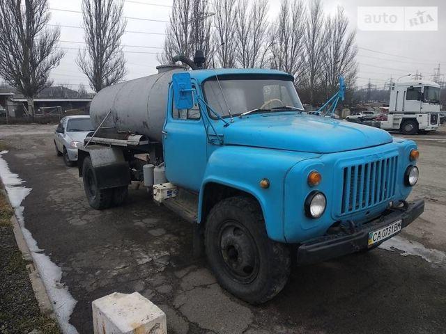 Синий ГАЗ 53 груз., объемом двигателя 4.75 л и пробегом 20 тыс. км за 5000 $, фото 1 на Automoto.ua